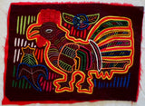 Kuna Indian Hand-Stitched Chicken Rooster MoIa-Panama 20021405mm