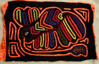 Kuna Indian Hand-Stitched Big Beak MoIa- Panama 20021701mm