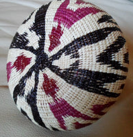 Wounaan Embera Woven Gorgeous Basket-Panama 20050301mm