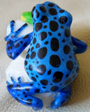 Wounaan Embera Poison Dart Frog Tagua Nut Carving-Panama 20050311mm