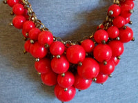 Estate Sale Jewelry Great Balls of Fire Necklace 20060203mm