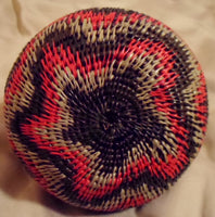 Wounaan Embera Woven Small Gorgeous Basket-Panama 20112809m