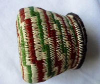 Wounaan Embera Small Woven Basket-Panama 20052205mm