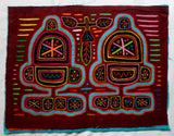 Kuna Indian Hand-Stitched Robbie the Robot MoIa II-Panama 20052712mm