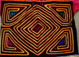 Kuna Indian Hand-Stitched Mola Blouse-Panama 20052902mm