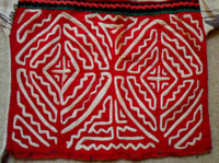 Kuna Indian Hand-Stitched Mola Blouse for Child-Panama 20052908mm