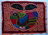 Kuna Indian Hand-Stitched Apple of your Eye MoIa-Panama 20060211mm