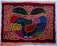 Kuna Indian Hand-Stitched Apple of your Eye MoIa II-Panama 20060212mm