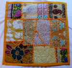 Two New Hand-Stitched Patch Pillow Covers-Indian 20062101mm