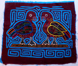 Kuna Indian Hand-Stitched Peace Dove MoIa-Panama 20062201mm