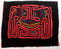 Kuna Indian Hand-Stitched Pigout MoIa-Panama 20062519mm
