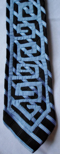 Kuna Indian Hand-Stitched Clip On Mola Necktie-Panama 20062804mm
