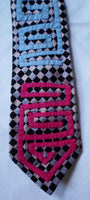 Kuna Indian Hand-Stitched Clip On Mola Necktie-Panama 20062806mm