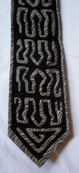 Kuna Indian Hand-Stitched Super Elegant Mola Necktie-Panama 20062808mm