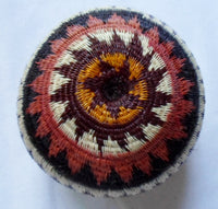 Wounaan Embera Woven Classic Design Basket-Panama 20063004mm