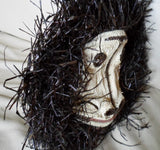 Wounaan Indian Woven Chunga Monkey Mask-Panama 20071507mm