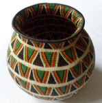 Wounaan Embera Woven Gorgeous Classic Design Basket-Panama 20081310mm
