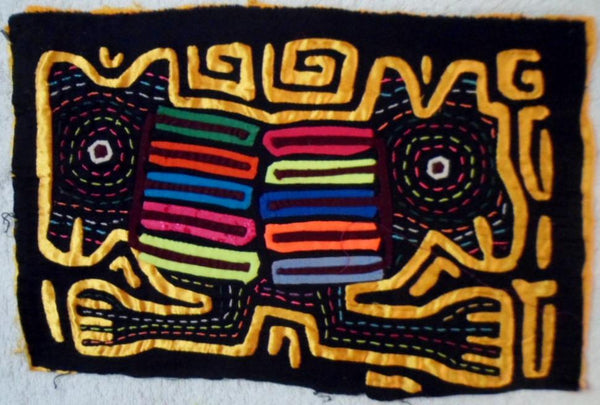 Kuna Indian Hand-Stitched Masters of the Sky MoIa-Panama 20081513mm