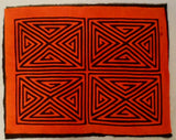 Kuna Indian Hand-Stitch Classic Design MoIa II-Panama 20082202mm