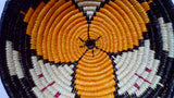 Wounaan Indian Woven Classic Plate/Bowl Basket-Panama 20082522mm