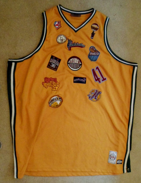 Clothing Harlem Globetrotters Size 5X Platinum Basketball Jersey 20091604mm