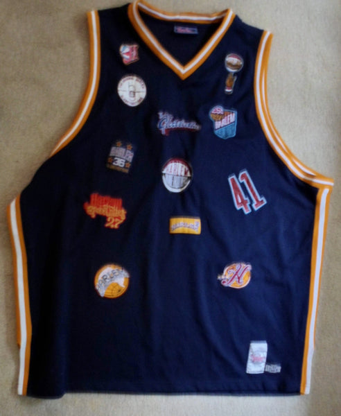 Clothing Harlem Globetrotters Size 5X Platinum Basketball Jersey 20091605mm