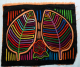 Kuna Indian Hand-Stitched Autumn Leaves MoIa II-Panama 20092334mm