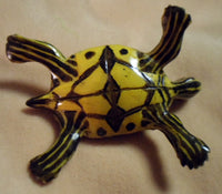 Wounaan Embera Turtle Tortoise Tagua Nut Carving-Panama 18081610mm