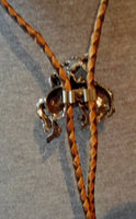 (2) Western Bolo Ties Indian and Bucking Bronco  21011202mm