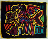 Kuna Indian Hand-Stitched Big Bird MoIa-Panama 19100301mm