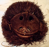 Wounaan Indian Woven LARGE Chunga Monkey Mask-Panama 19101610mm
