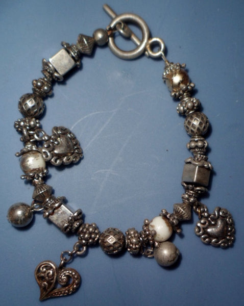 Estate Sale Bead Bracelet Jewelry 19101713mm