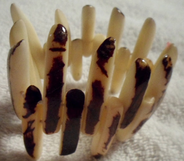 Tagua Vegetable Ivory Bracelet Jewelry-Ecuador 19110422mm