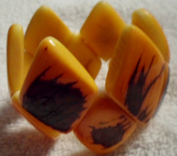 Tagua Vegetable Ivory Bracelet Jewelry-Ecuador 19110423mm