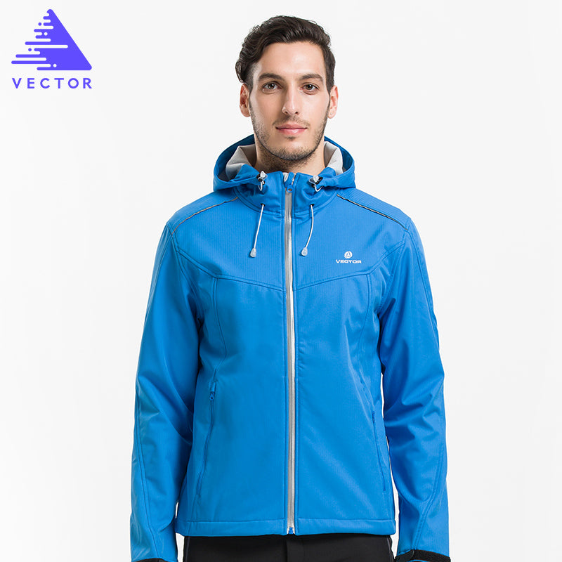 VECTOR Softshell mens jacket for outdoor hiking and camping