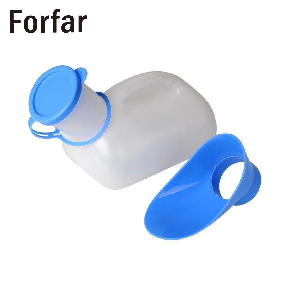 Forfar New Portable Mobile Urinal Toilet For Car Outdoor hiking Camping, for male and female use