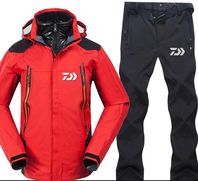 High quality mens outdoor sporting jackets and trousers