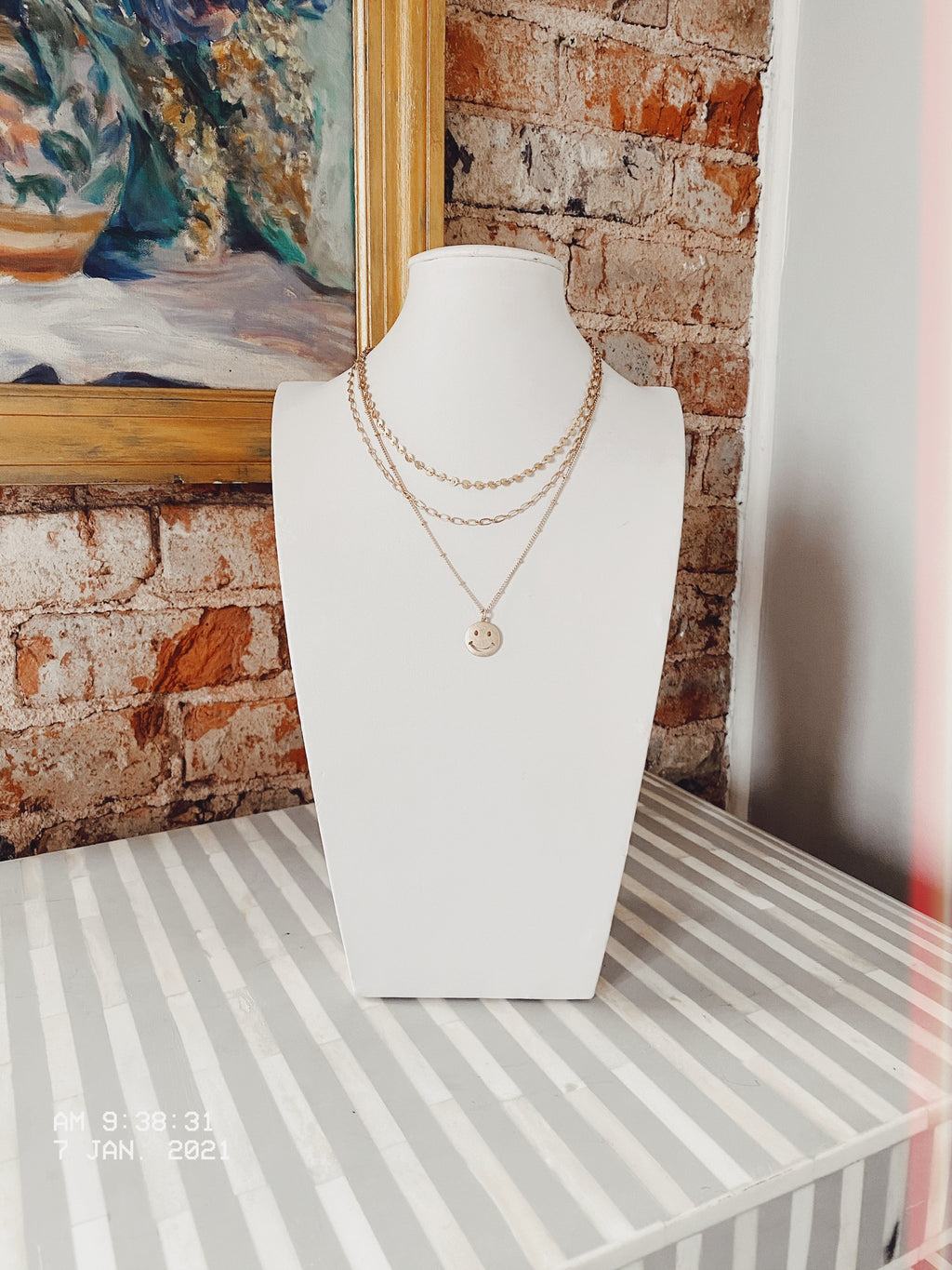 Beautiful Smile Necklace