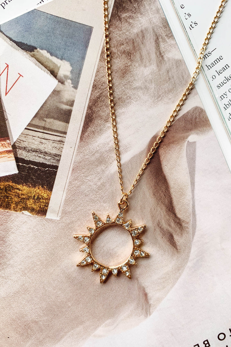 Sunshine After Rain Necklace