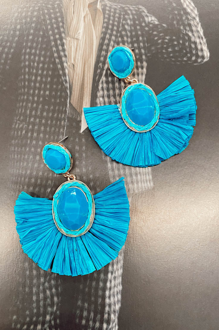 Bali Blue Earrings