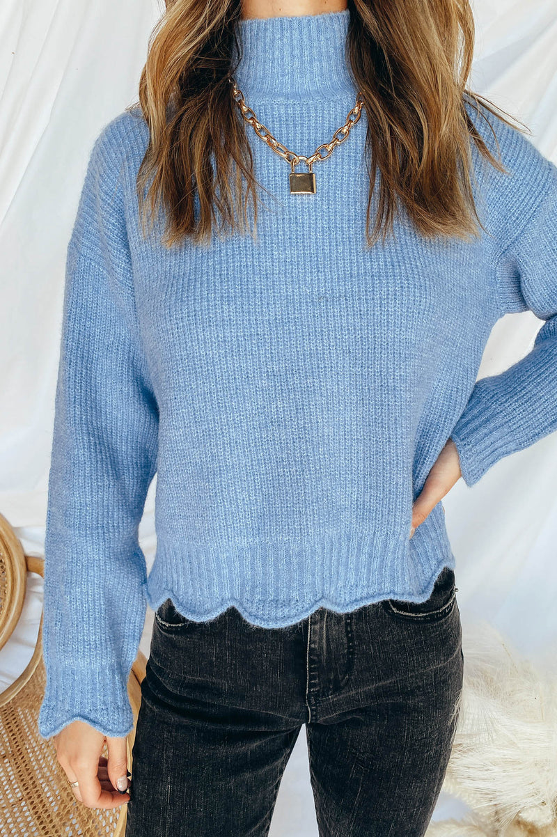Singing the Blues Sweater