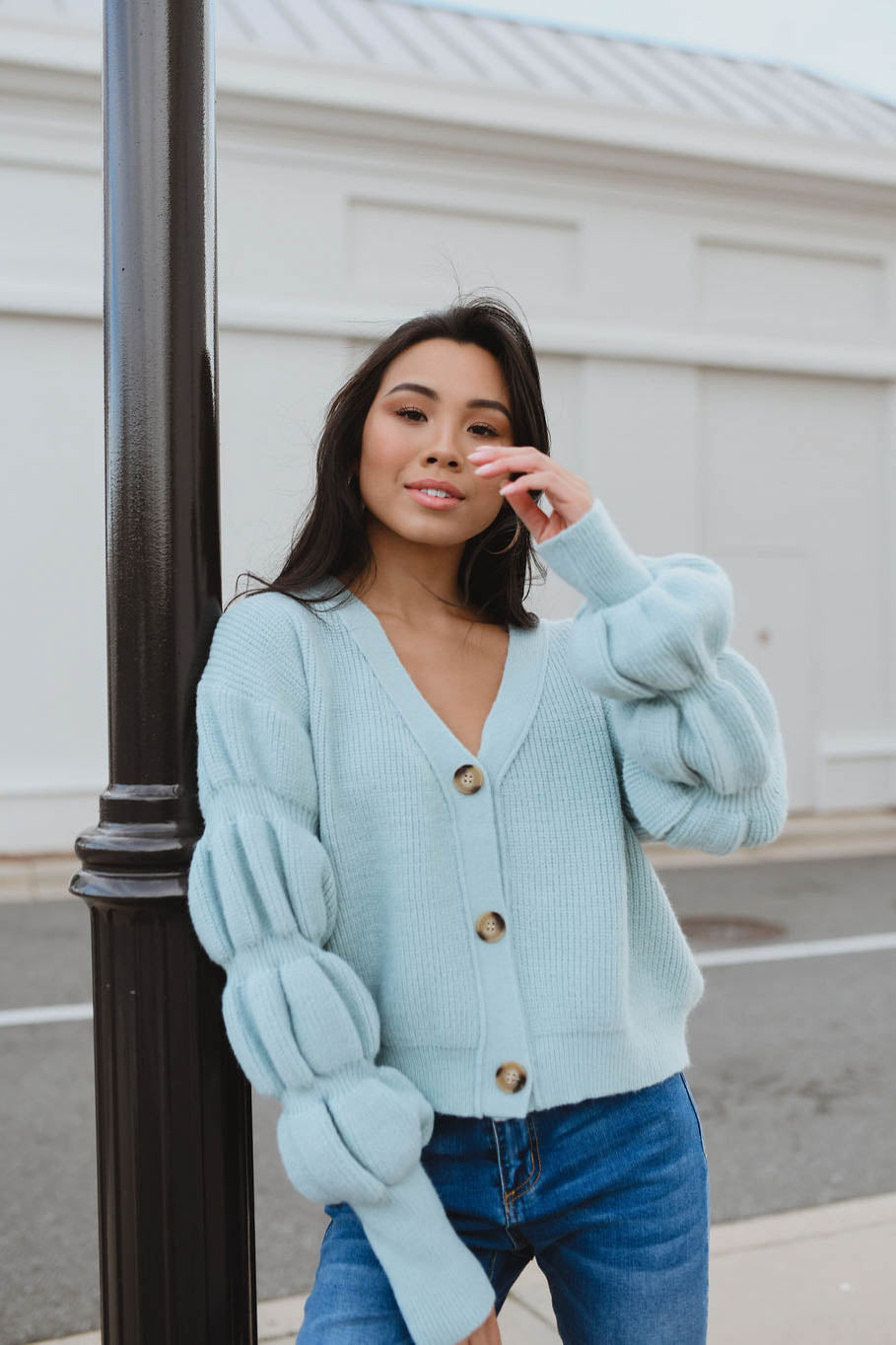 Singing the Blues Cardigan