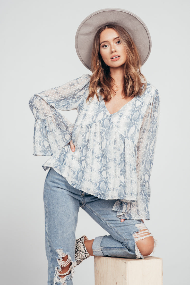 Blue Haze Top