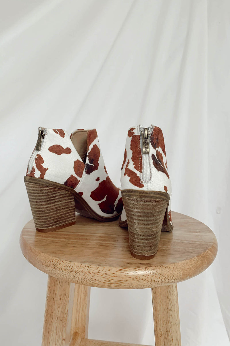 Dean Cowhide Booties