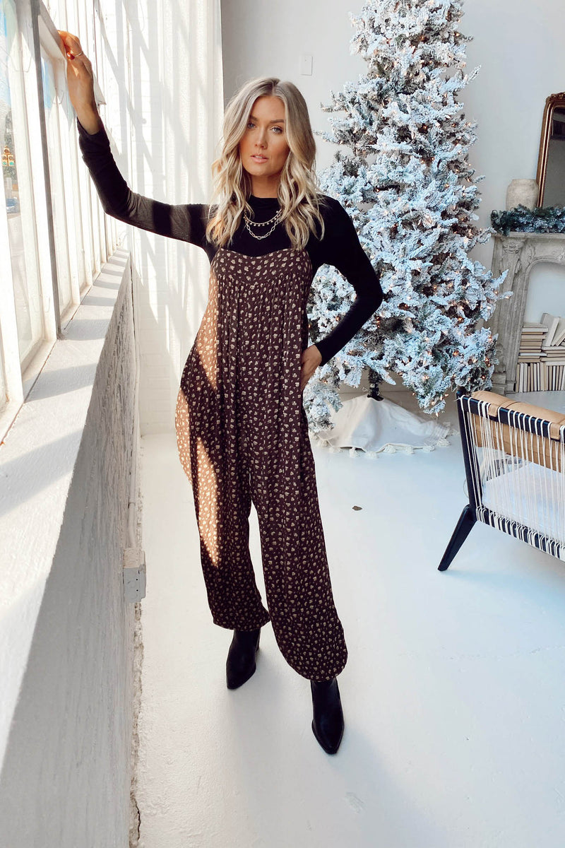 Caroline Jumpsuit in Print