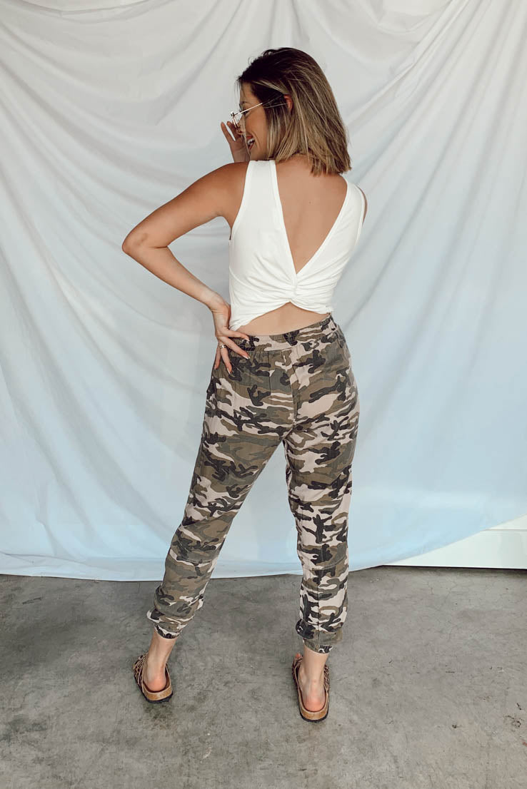 Staying Camouflaged Pants