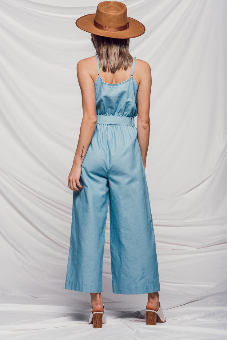 Denim Street Jumpsuit