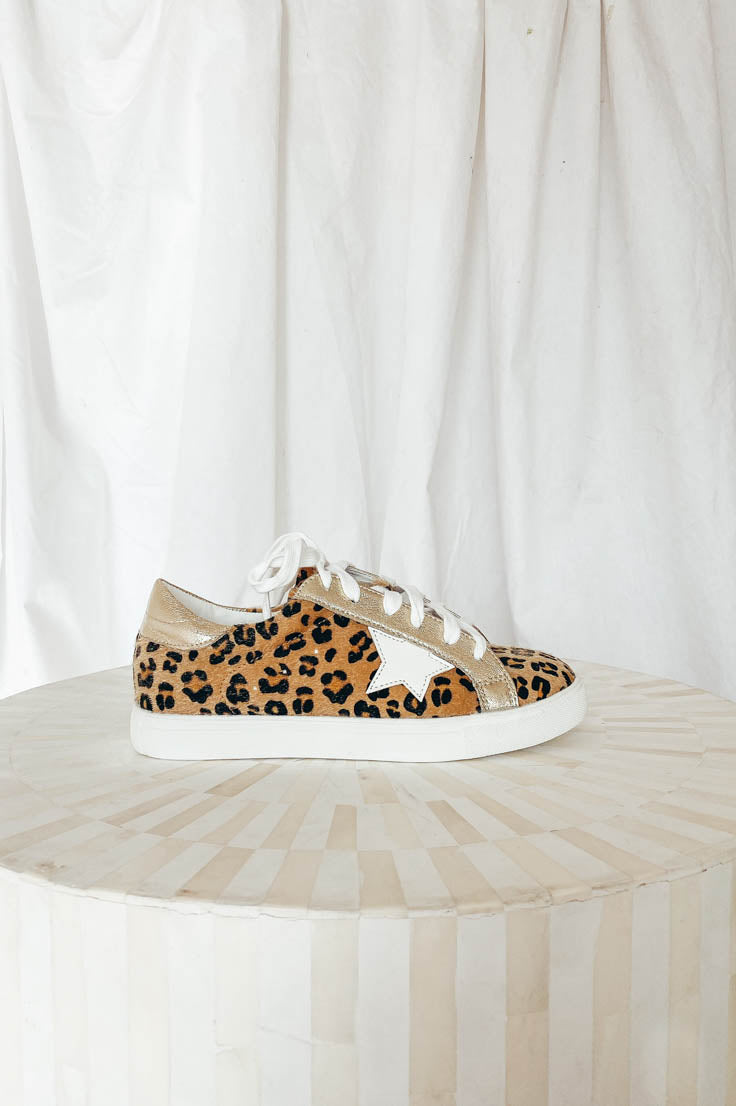 Cheetah Girl Sneakers