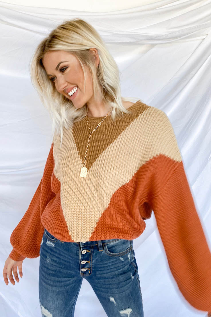 Show of Hands Sweater