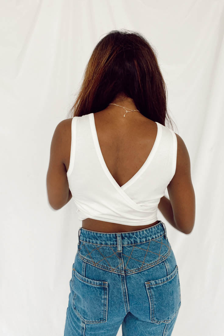 Party In The Back Crop Top